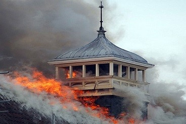 Fire at Battersea Arts Centre