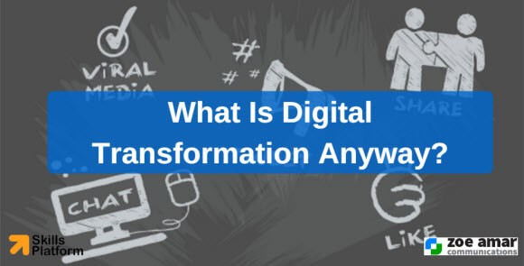 What is digital transformation anyway?