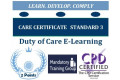 Care Certificate Standard 3 - Duty of Care Online Training Course