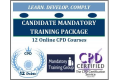 Candidate Mandatory Training - 12 Online CPD Accredited Courses - Skills for Health Aligned
