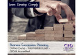 Business Succession Planning - Online Course - CPD Accredited