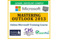 Mastering Outlook 2013 - Online CPD Training Course & Certification