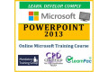 Microsoft PowerPoint 2013 - Online CPD Training Course & Certification