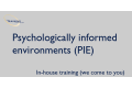 Psychologically informed environments (PIE)