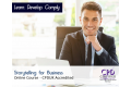 Storytelling for Business - Online Training Course - CPDUK Certified