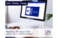Mastering MS Word 2016 - Intermediate - Online Training Course - CPDUK Accredited