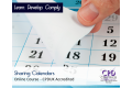 Sharing Calendars - Online Training Course - CPDUK Certified