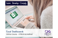 Excel Dashboards - Online Training Course - CPDUK Certified  -