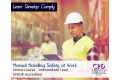Manual Handling Safety at Work - Online Training Course - CPDUK Accredited
