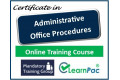 Administrative Office Procedures - Online Training Course - UK CPD Accredited