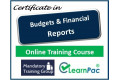 Budgets and Financial Reports- Online Training Course - UK CPD Accredited