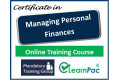 Certificate in Managing Personal Finances- Online Training Course - 85% OFF Buy Now £29.99