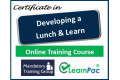 "Certificate in ""Developing a Lunch and Learn""  - Online Training Course - 85% OFF Buy Now £29.99"