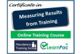 Measuring Results from Training - Online Training Course - UK CPD Accredited