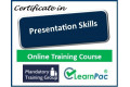 Certificate in Presentation Skills - Online Training Course - 85% OFF Buy Now £29.99