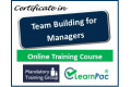 Certificate in Team Building for Managers - Online Training Course - 85% OFF Buy Now £29.99