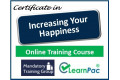 Increasing your Happiness - Online Training Course - - UK CPD Accredited