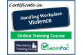Handling Workplace Violence - Online Training Course - UK CPD Accredited