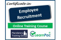 Certificate in Employee Recruitment - Online Training Course - 85% OFF Buy Now £29.99