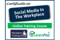 Certificate in Social Media in the Workplace - Online Training Course - 85% OFF Buy Now £29.99