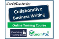 Certificate in Collaborative Business Writing - Online Training Course - 85% OFF Buy Now £29.99