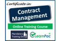 Certificate in Contract Management - Online Training Course - 85% OFF Buy Now £29.99