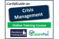 Certificate in Crisis Management - Online Training Course - 85% OFF Buy Now £29.99