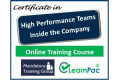 Certificate in High Performance Teams (Internal) - Online Training Course - 85% OFF Buy Now £29.99