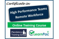 Certificate in High Performance Teams (External) - Online Training Course - 85% OFF Buy Now £29.99