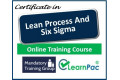 Certificate in Lean Process & Six Sigma - Online Training Course - 85% OFF Buy Now £29.99