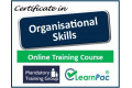 Certificate in Organisational Skills - Online Training Course - 85% OFF Buy Now £29.99