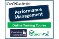 Certificate in Performance Management - Online Training Course - 85% OFF Buy Now £29.99