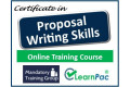 Certificate in Proposal Writing - Online Training Course - 85% OFF Buy Now £29.99