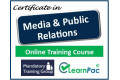 Media and Public Relations - Online Training Course - UK CPD Accredited