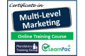 Multi-Level Marketing - Online Training Course - UK CPD Accredited
