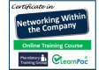 "Certificate in ""The Power of Networking"" (Internal) - Online Training Course - 85% OFF Buy Now £29.99"