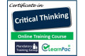 Certificate in Critical Thinking - Online Training Course - 85% OFF Buy Now £29.99