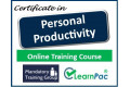 Certificate in Personal Productivity - Online Training Course - 85% OFF Buy Now £29.99