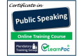 Certificate in Public Speaking - Online Training Course - 85% OFF Buy Now £29.99