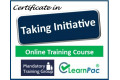 Certificate in Seeing and Taking Initiative - Online Training Course - 85% OFF Buy Now £29.99