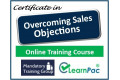 Certificate in Overcoming Sales Objections - Online Training Course - 85% OFF Buy Now £29.99