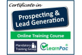 Certificate in Prospecting and Lead Generation - Online Training Course - 85% OFF Buy Now £29.99