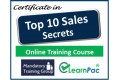 Certificate in Top 10 Sales Secrets - Online Training Course - 85% OFF Buy Now £29.99