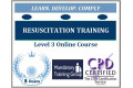 Resuscitation Training � Immediate Life Support Level 3 � CPD Accredited Online Training Course