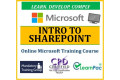 Microsoft Intro to SharePoint - Online CPD Training Course & Certification