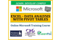 Microsoft Excel: Data Analysis with Pivot Tables - Online CPD Training Course & Certification