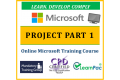 Microsoft Project Part 1 - Online CPD Training Course & Certification