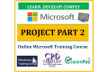 Microsoft Project Part 2 - Online CPD Training Course & Certification