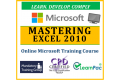 Mastering Microsoft Office Excel 2010 - Online CPD Training Course & Certification