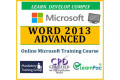 Mastering Word 2013 Advanced - Online CPD Training Course & Certification